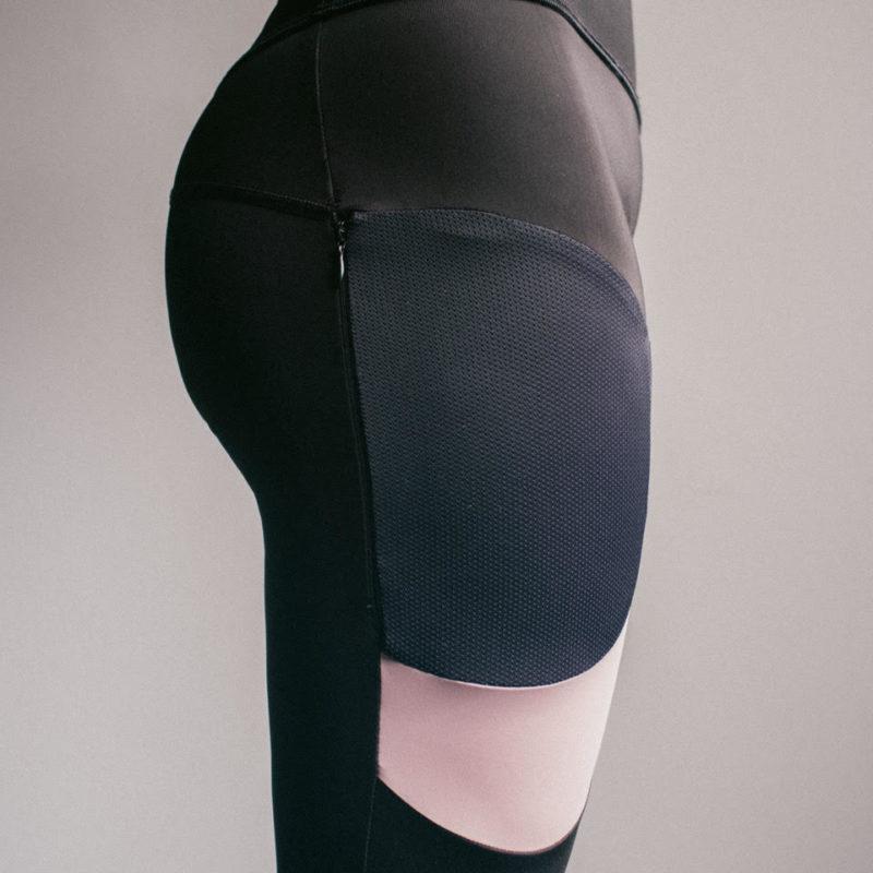 Creta Legging - Pink (Back)