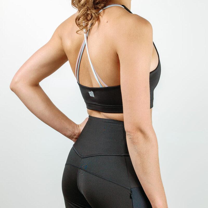 Motus Sports Bra from the back