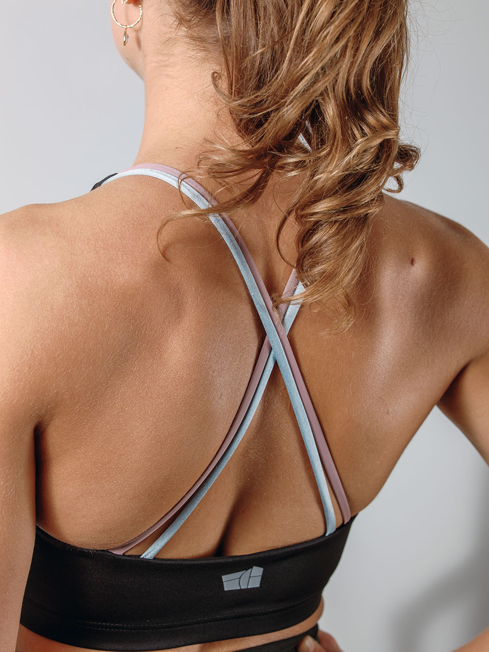 Motus Sports Bra - straps detail